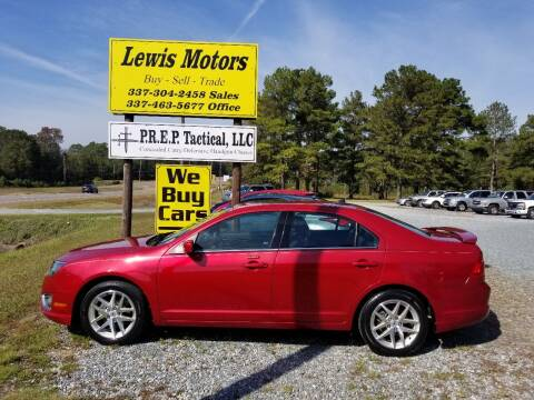 2010 Ford Fusion for sale at Lewis Motors LLC in Deridder LA