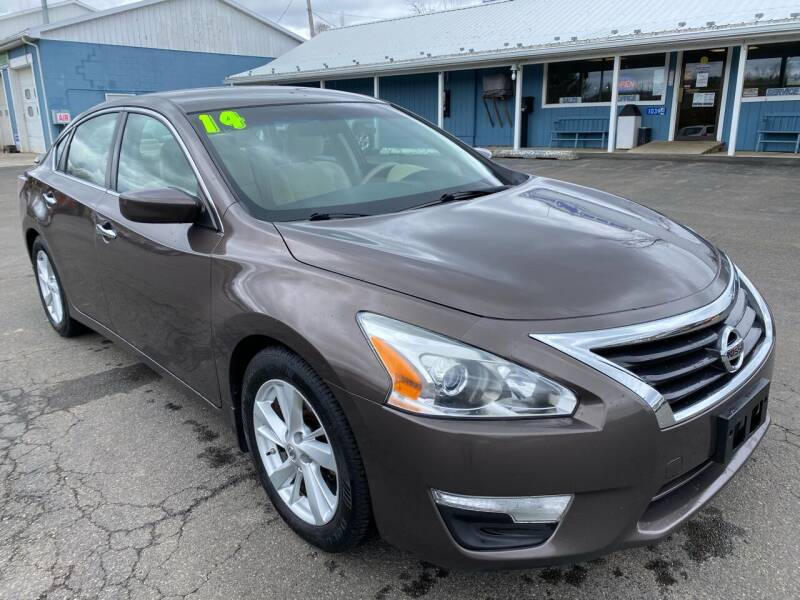 2014 Nissan Altima for sale at HACKETT & SONS LLC in Nelson PA