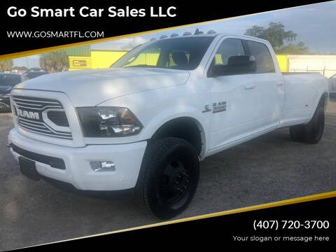 2018 RAM Ram Pickup 3500 for sale at Go Smart Car Sales LLC in Winter Garden FL