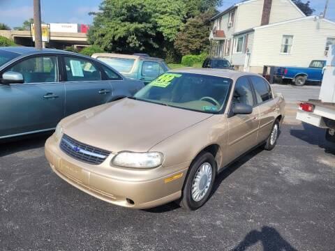 2002 Chevrolet Malibu for sale at Credit Connection Auto Sales Inc. CARLISLE in Carlisle PA
