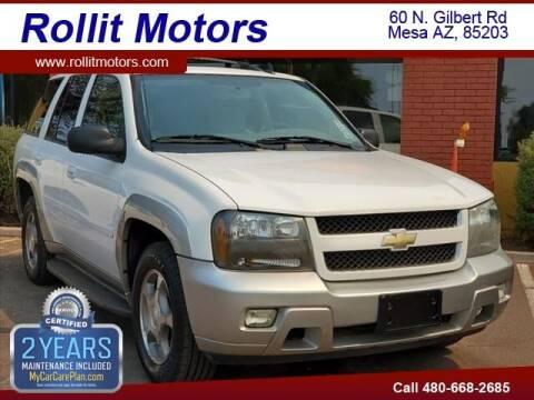 2008 Chevrolet TrailBlazer for sale at Rollit Motors in Mesa AZ