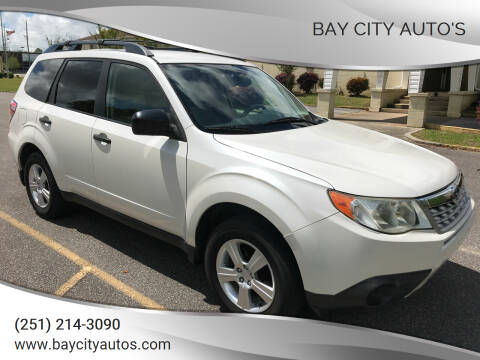 2011 Subaru Forester for sale at Bay City Auto's in Mobile AL