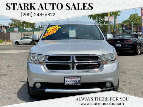 2013 Dodge Durango for sale at Stark Auto Sales in Modesto CA