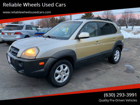 2005 Hyundai Tucson for sale at Reliable Wheels Used Cars in West Chicago IL