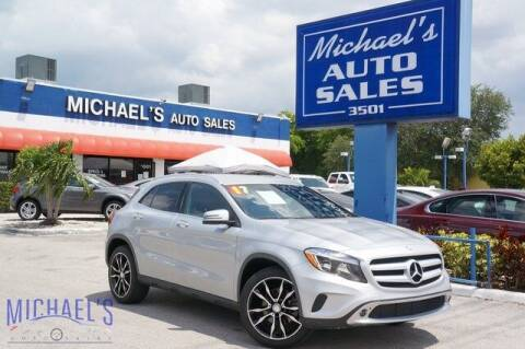 2017 Mercedes-Benz GLA for sale at Michael's Auto Sales Corp in Hollywood FL
