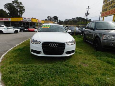 2012 Audi A6 for sale at Atlanta Fine Cars in Jonesboro GA