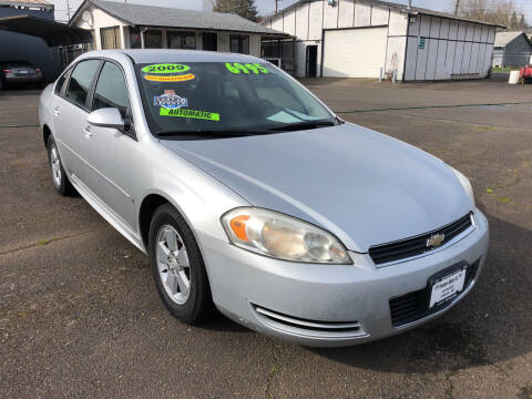 2009 Chevrolet Impala for sale at Freeborn Motors in Lafayette, OR