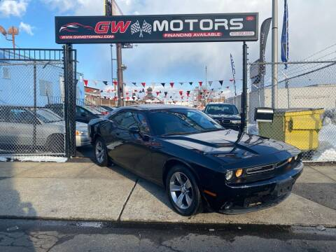 2015 Dodge Challenger for sale at GW MOTORS in Newark NJ