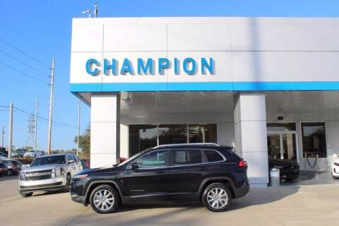 2015 Jeep Cherokee for sale at Champion Chevrolet in Athens AL