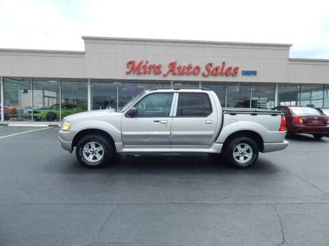 2005 Ford Explorer Sport Trac for sale at Mira Auto Sales in Dayton OH