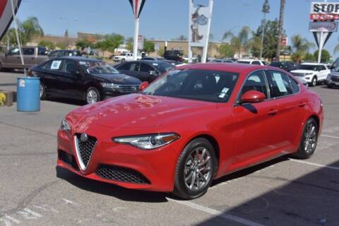 2018 Alfa Romeo Giulia for sale at Choice Motors in Merced CA