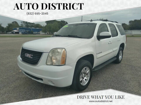 2007 GMC Yukon for sale at Auto District in Baytown TX