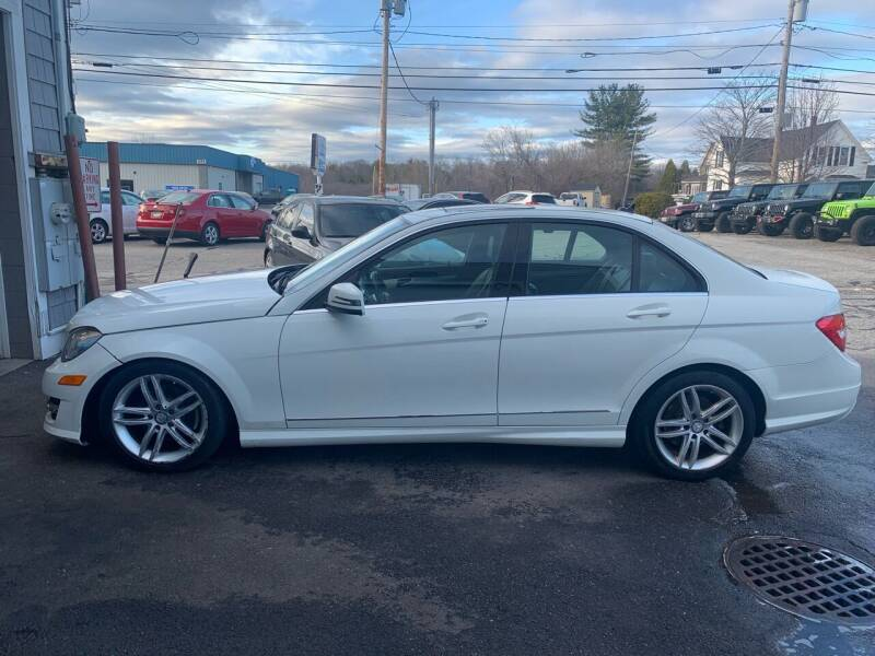2012 Mercedes-Benz C-Class for sale at BAY CITY MOTORS in Portland ME
