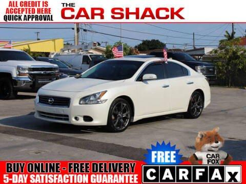2014 Nissan Maxima for sale at The Car Shack in Hialeah FL