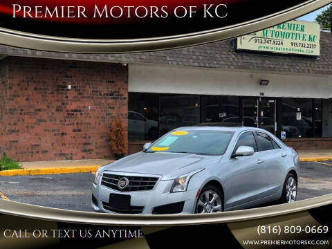 2013 Cadillac ATS for sale at Premier Motors of KC in Kansas City MO