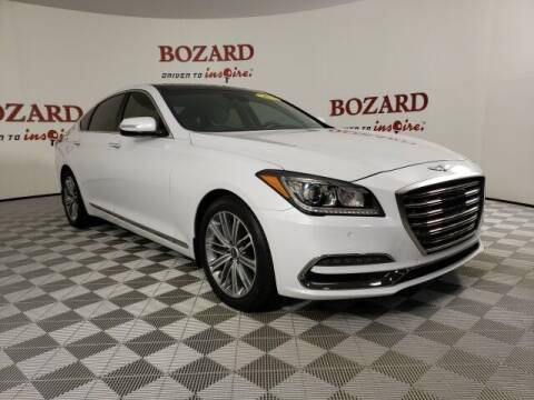 2018 Genesis G80 for sale at BOZARD FORD in Saint Augustine FL