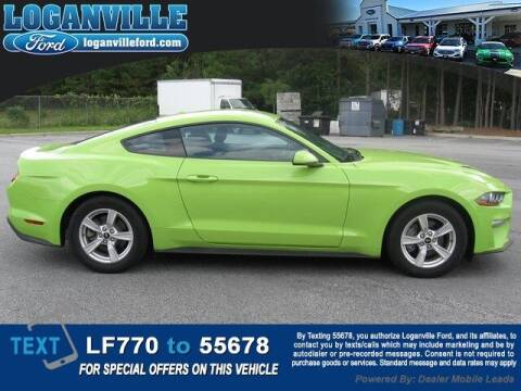2020 Ford Mustang for sale at Loganville Quick Lane and Tire Center in Loganville GA