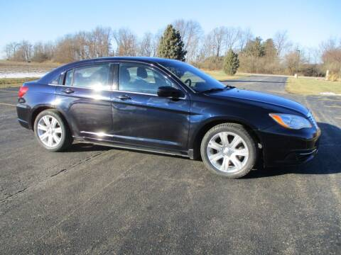2012 Chrysler 200 for sale at Crossroads Used Cars Inc. in Tremont IL