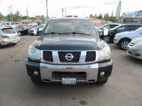 2005 Nissan Titan for sale at Dealer Finance Auto Center LLC in Sacramento CA
