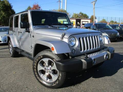 2016 Jeep Wrangler Unlimited for sale at Unlimited Auto Sales Inc. in Mount Sinai NY