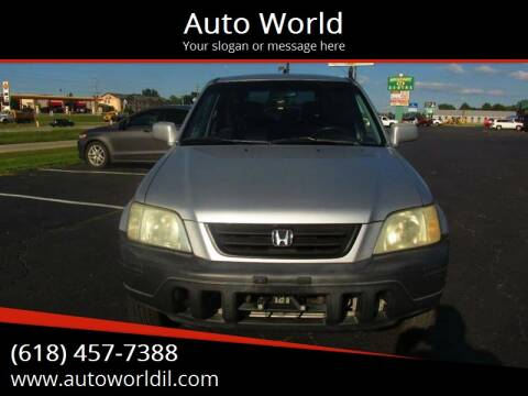 1999 Honda CR-V for sale at Auto World in Carbondale IL