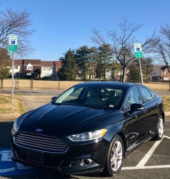 2016 Ford Fusion Hybrid for sale at ONE NATION AUTO SALE LLC in Fredericksburg VA