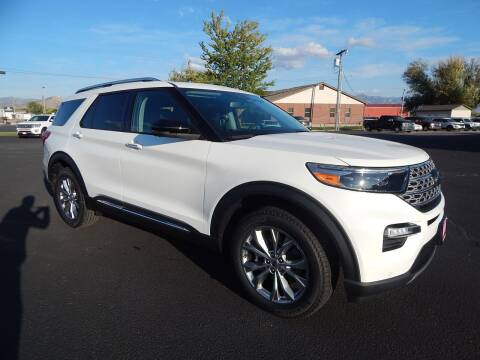 2021 Ford Explorer for sale at West Motor Company - West Motor Ford in Preston ID