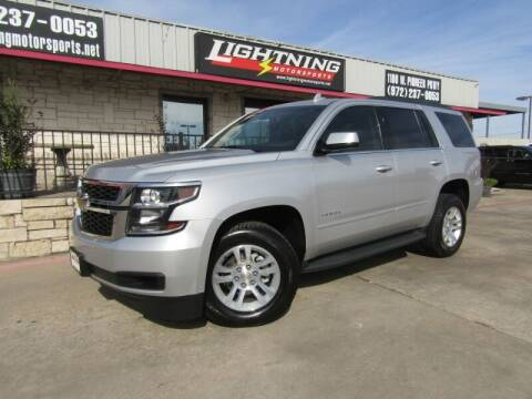 2016 Chevrolet Tahoe for sale at Lightning Motorsports in Grand Prairie TX
