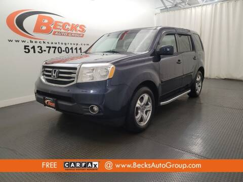 2013 Honda Pilot for sale at Becks Auto Group in Mason OH