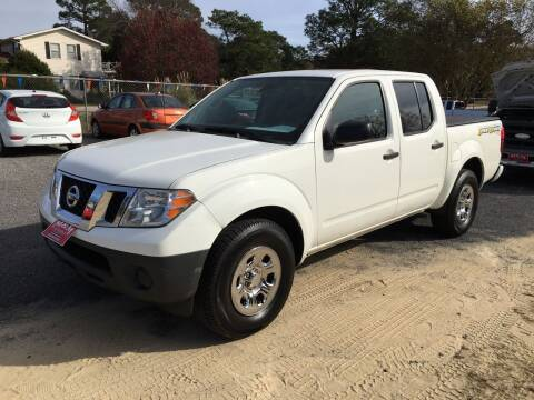 2017 Nissan Frontier for sale at M&M Auto Sales 2 in Hartsville SC
