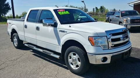 2014 Ford F-150 for sale at AutoBoss PRE-OWNED SALES in Saint Clairsville OH