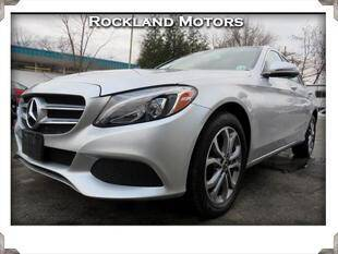 2017 Mercedes-Benz C-Class for sale at Rockland Automall - Rockland Motors in West Nyack NY
