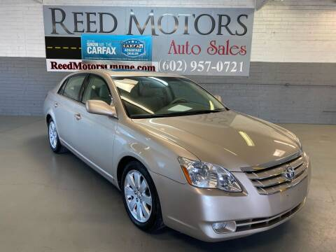 2006 Toyota Avalon for sale at REED MOTORS LLC in Phoenix AZ