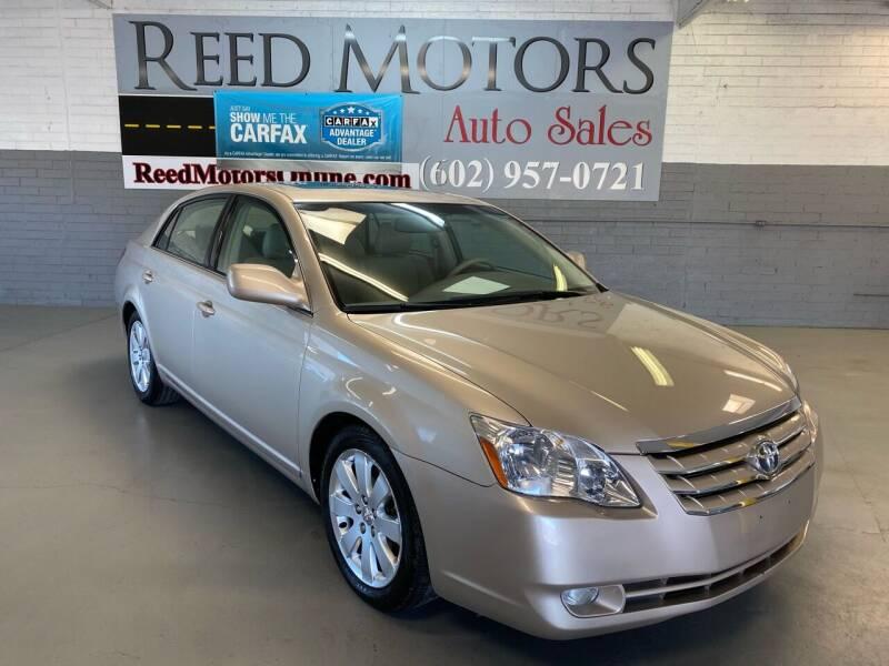 2006 Toyota Avalon for sale at REED MOTORS LLC in Phoenix AZ