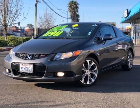 2012 Honda Civic for sale at LUGO AUTO GROUP in Sacramento CA