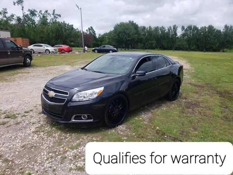 2013 Chevrolet Malibu for sale at NOTE CITY AUTO SALES in Oklahoma City OK