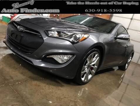 2016 Hyundai Genesis Coupe for sale at Luxury Auto Finder in Batavia IL