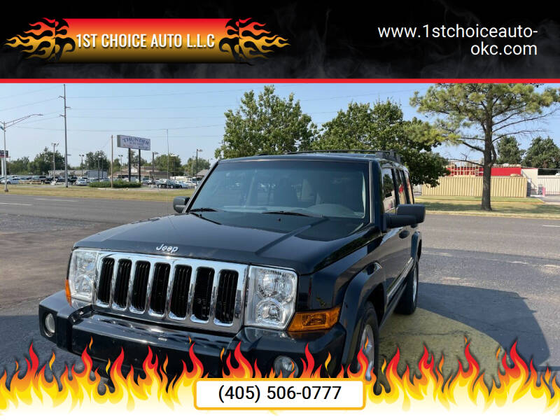 2006 Jeep Commander for sale at 1st Choice Auto L.L.C in Oklahoma City OK
