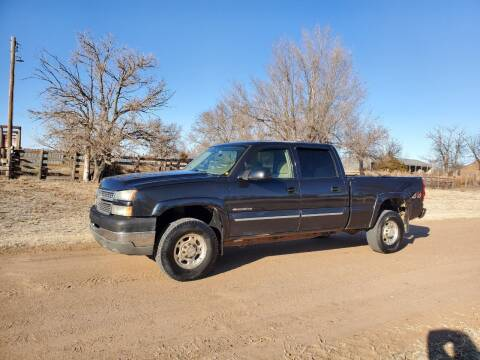 2005 Chevrolet Silverado 2500HD for sale at TNT Auto in Coldwater KS