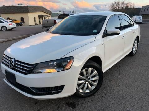 2015 Volkswagen Passat for sale at Zapp Motors in Englewood CO