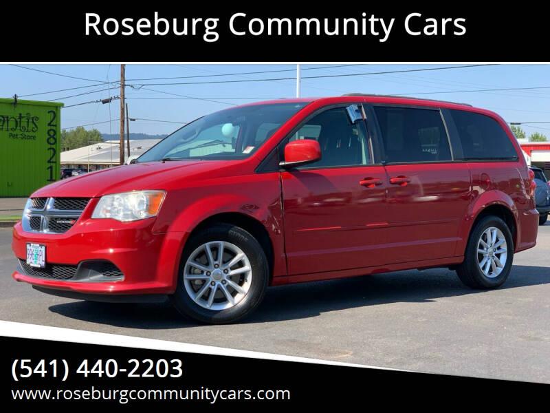 2013 Dodge Grand Caravan for sale at Roseburg Community Cars in Roseburg OR