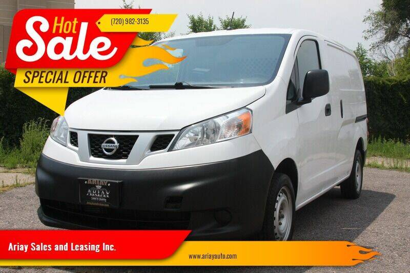 2017 Nissan NV200 for sale at Ariay Sales and Leasing Inc. - Pre Owned Storage Lot in Denver CO
