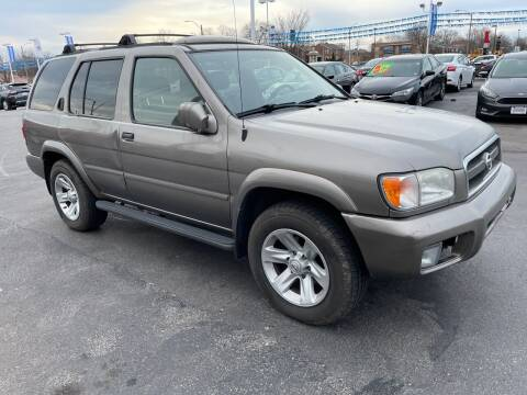 2002 Nissan Pathfinder for sale at COLT MOTORS in Saint Louis MO