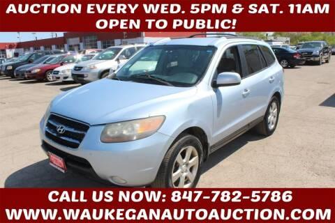 2007 Hyundai Santa Fe for sale at Waukegan Auto Auction in Waukegan IL