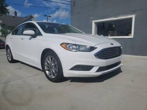 2017 Ford Fusion for sale at NUMBER 1 CAR COMPANY in Warren MI