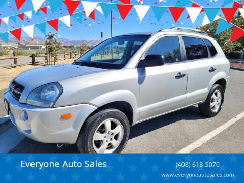 2007 Hyundai Tucson for sale at Everyone Auto Sales in Santa Clara CA