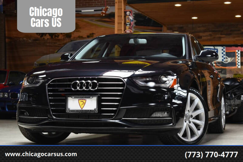 2014 Audi A4 for sale at Chicago Cars US in Summit IL