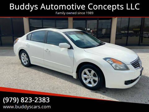 2008 Nissan Altima for sale at Buddys Automotive Concepts LLC in Bryan TX