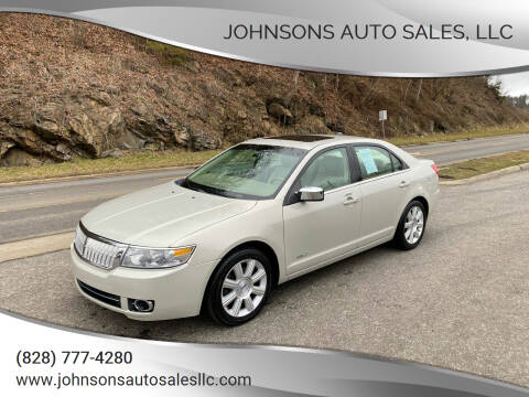 2008 Lincoln MKZ for sale at Johnsons Auto Sales, LLC in Marshall NC