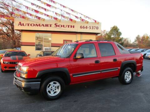 2006 Chevrolet Avalanche for sale at Automart South in Alabaster AL